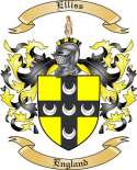 Elliss Family Coat of Arms from England