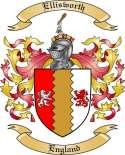 Ellisworth Family Crest from England2