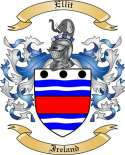 Ellit Family Crest from Ireland