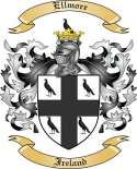 Ellmore Family Coat of Arms from Ireland