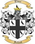 Elmer Family Crest from Ireland