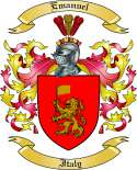 Emanuel Family Coat of Arms from Italy