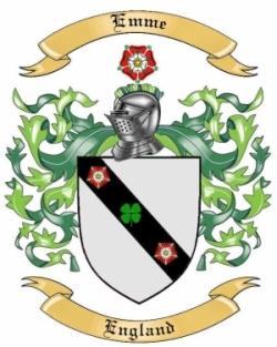Emme Family Coat of Arms from England