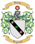 Emme Family Crest from England
