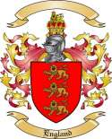 England Family Crest from England