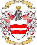 England Family Crest from Ireland