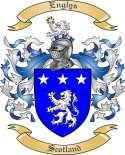Englys Family Crest from Scotland
