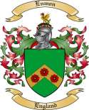 Enmon Family Crest from England