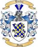 Enrica Family Crest from Italy2