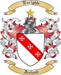 Enrighte Family Crest from Ireland