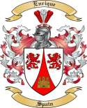 Enrique Family Crest from Spain