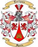 Enriquez Family Coat of Arms from Spain