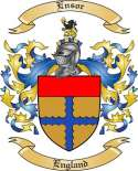 Ensor Family Coat of Arms from England