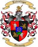 Entzminger Family Coat of Arms from Germany