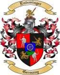 Entzminger Family Crest from Germany