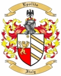 Epolito Family Coat of Arms from Italy