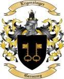 Ergenzinger Family Crest from Germany