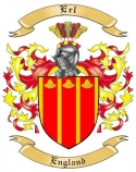 Erl Family Crest from England