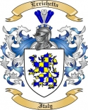 Errichetta Family Crest from Italy2