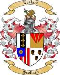 Erskine Family Crest from Scotland