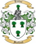 Ervine Family Crest from Scotland