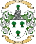 Erwin Family Coat of Arms from Scotland