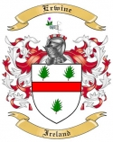 Erwine Family Coat of Arms from Ireland