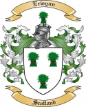 Erwynn Family Crest from Scotland