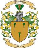 Escobado Family Crest from Spain