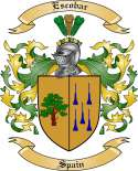 Escobar Family Crest from Spain2