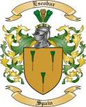 Escobar Family Coat of Arms from Spain