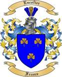 Escofier Family Crest from France
