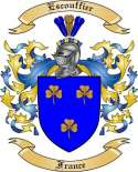 Escouffier Family Crest from France