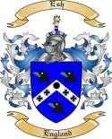 Esh Family Coat of Arms from England