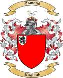 Esmond Family Crest from England