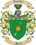 Espadas Family Coat of Arms from Spain