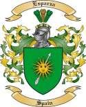Esparza Family Crest from Spain
