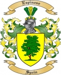 Espinoso Family Coat of Arms from Spain