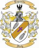 Esposito Family Crest from Italy