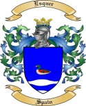 Esquer Family Coat of Arms from Spain