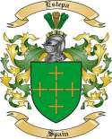 Estepa Family Coat of Arms from Spain