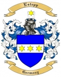 Estepp Family Crest from Germany