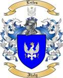 Estes Family Coat of Arms from Italy