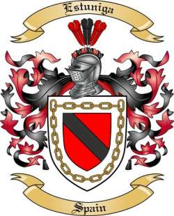 Estuniga Family Coat of Arms from Spain