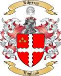 Etherege Family Coat of Arms from England2