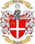 Etheridge Family Crest from England2