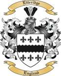 Etteridge Family Coat of Arms from England