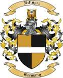 Ettinger Family Crest from Germany
