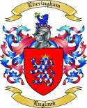 Everingham Family Crest from England