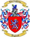 Everinghame Family Crest from England